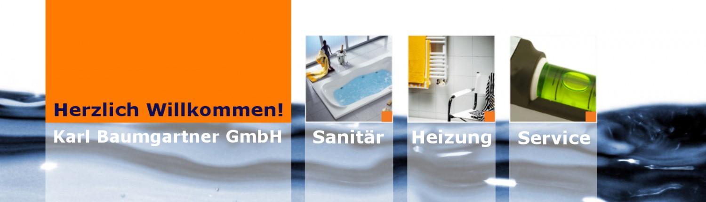 Herzlich Willkommen bei der Karl Baumgartner GmbH