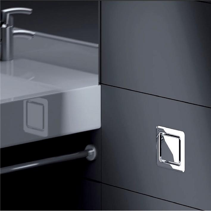 innovativ in design und technik dallmer auf den fr hjahrsmessen shk essen und ifh n rnberg. Black Bedroom Furniture Sets. Home Design Ideas