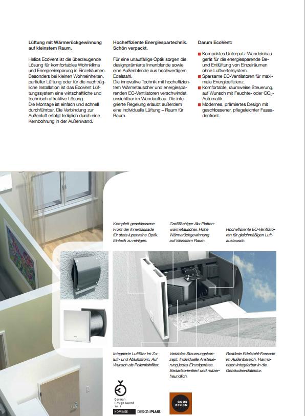 kontrollierte wohnrauml ftungen effizient umweltfreundlich kostensparend genial. Black Bedroom Furniture Sets. Home Design Ideas