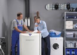 kinderleichte Bedienung wie einer Waschmaschine